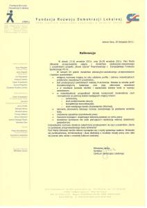 referencjeFundacjaRozwojuDemokracjiLokalnej.11.2011
