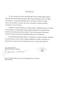 referencjeZespolSzkolAgrobiznesuBolkow2013